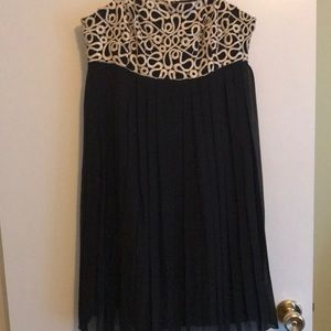 Black and Gold Lilly Pulitzer Dress